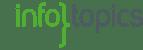 Infotopics logo met links witruimte